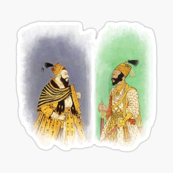 Mughal Emperors  Pegatina