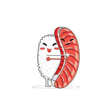 Sushi hug by dealzillas