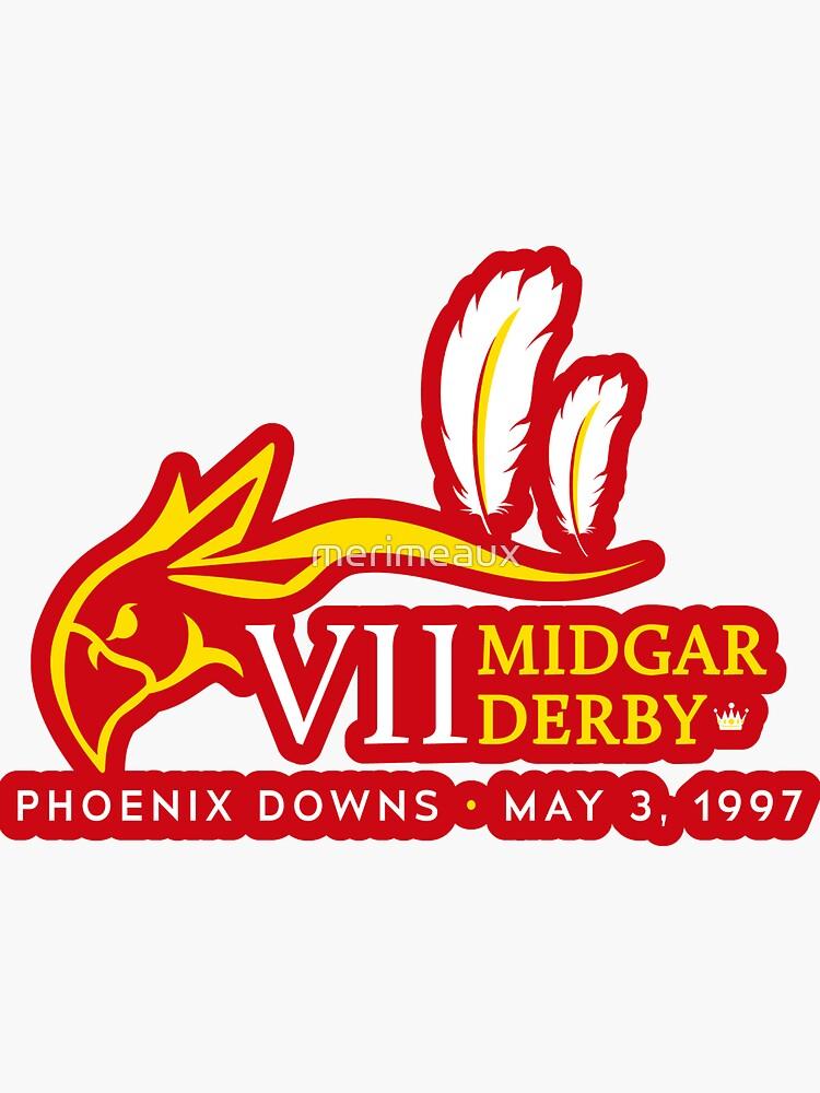 Sticker! Midgar Derby by merimeaux