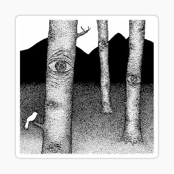 Nature is Watching Sticker
