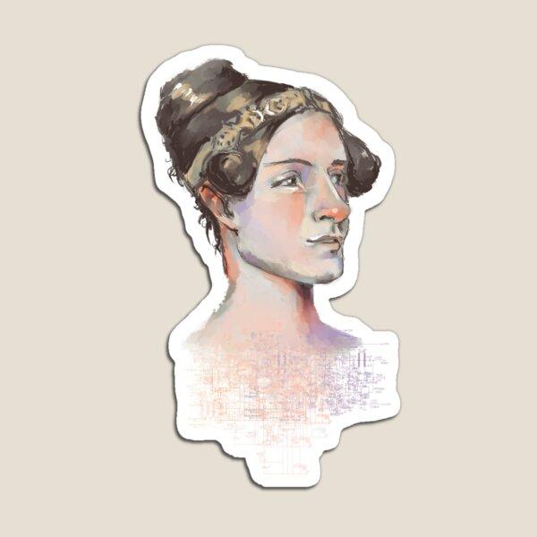 Ada Lovelace - The First Computer Programmer Magnet