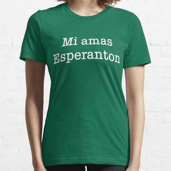 Mi Amas Esperanton Essential T-Shirt
