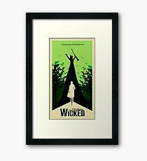 Wicked - Elphaba's Untold Story Framed Print