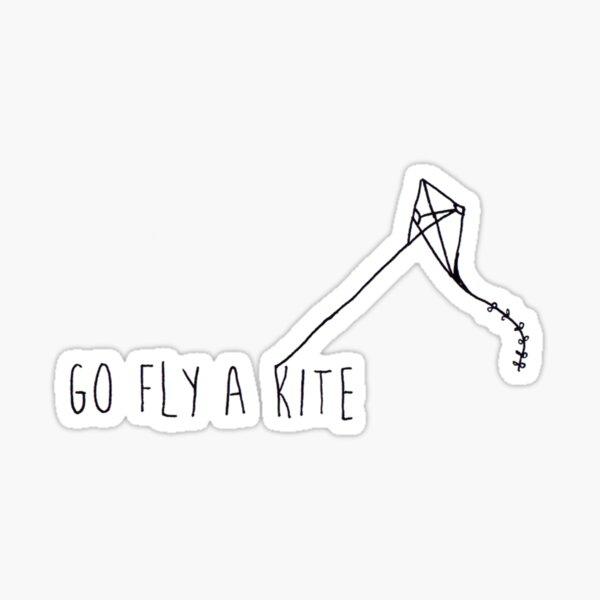 Go Fly A Kite  Sticker