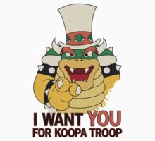 Bowser Wants You - no border