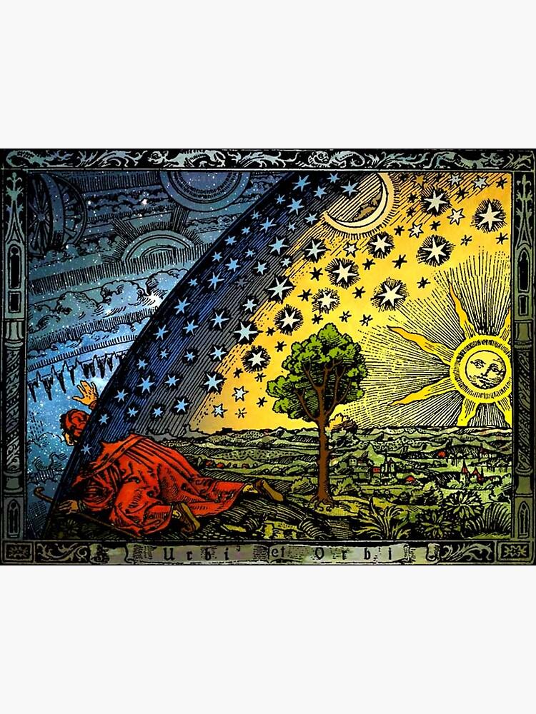 Flammarion Engraving by historicalstuff