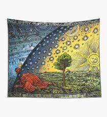 Flammarion-Gravur Wandbehang