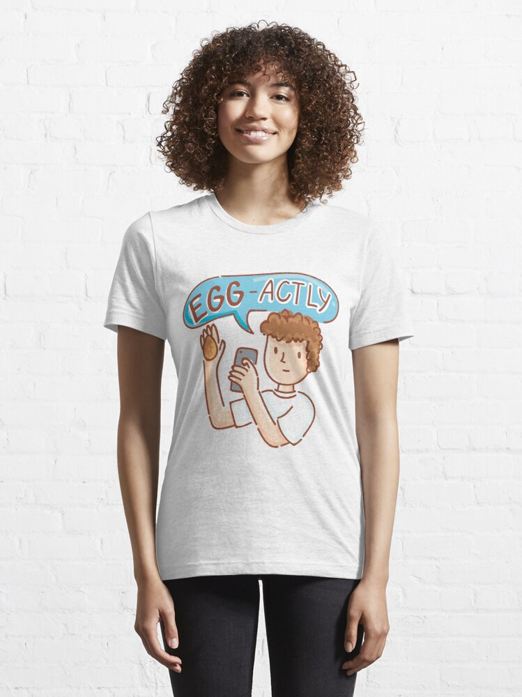 Alternate view of EggBoy's Egg-Actly ! Essential T-Shirt