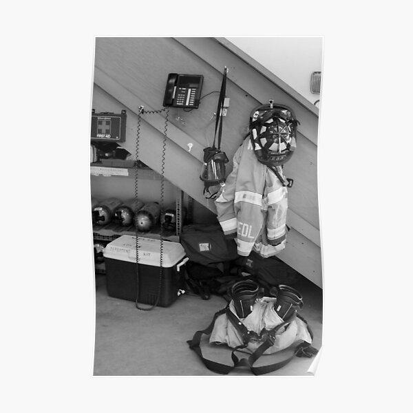 Still Life, Fire Fighter Poster
