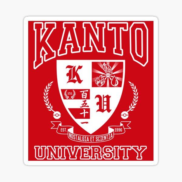 Sticker! Kanto University Sticker