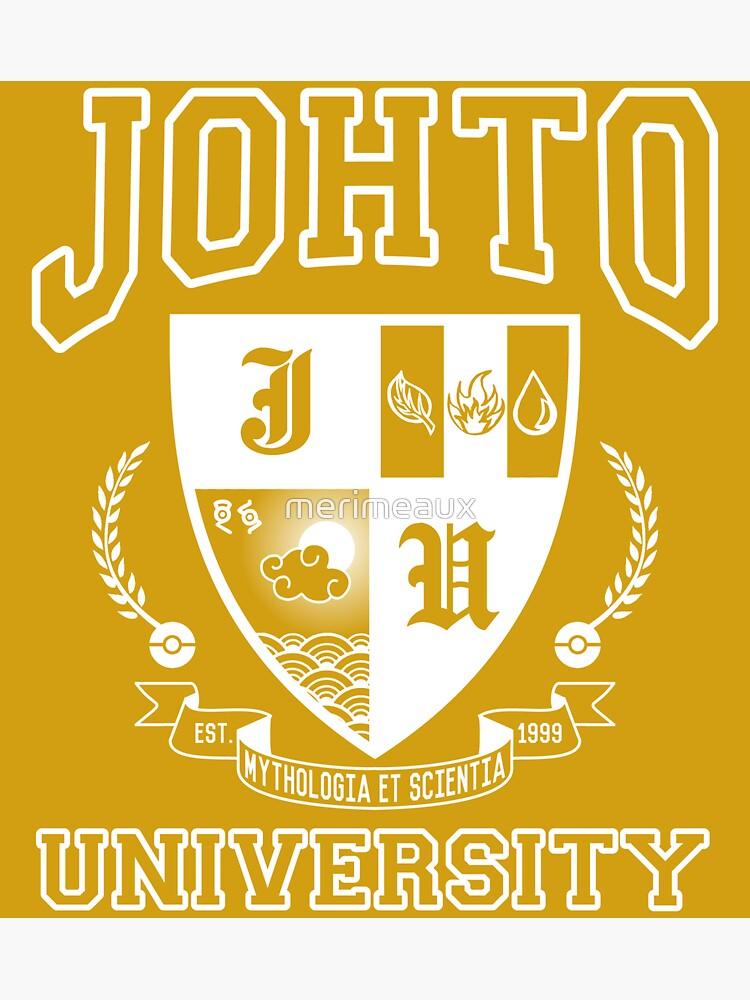 Sticker! Johto University by merimeaux