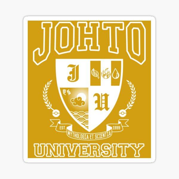 Sticker! Johto University Sticker