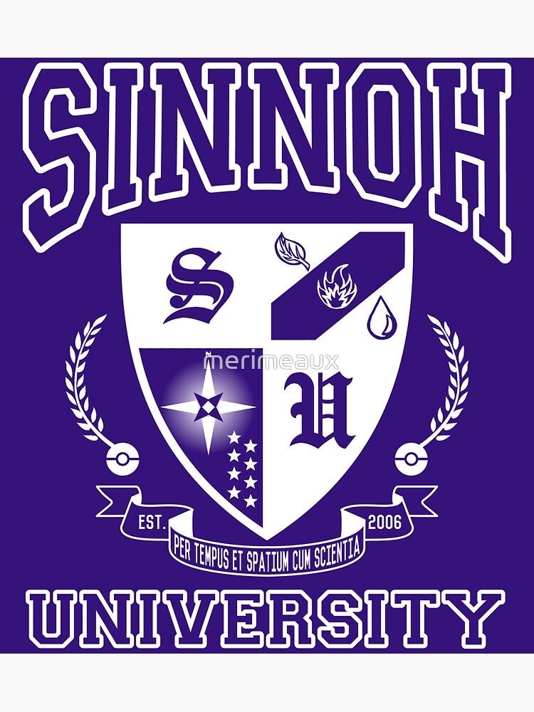 Sticker! Sinnoh University by merimeaux