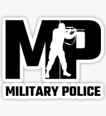 MP Militärpolizei Sticker