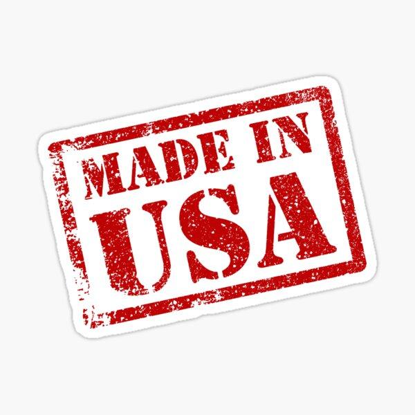 Made in USA, Made in America Sticker