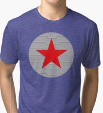 Winter Soldier - Shield Tri-blend T-Shirt