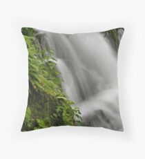 Waterfall Detail Throw Pillow