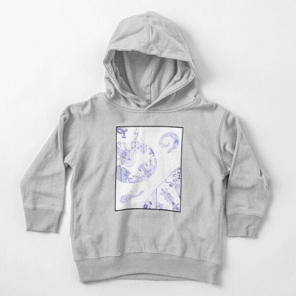 Merch #16 -- Segments of individuality. Toddler Pullover Hoodie