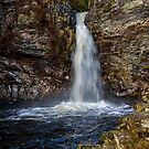 Waterfall on Grey Mare's Tail Burn by derekbeattie