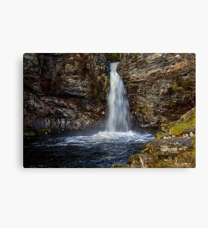 Waterfall on Grey Mare's Tail Burn Canvas Print