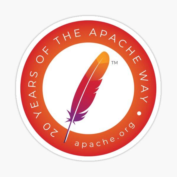 Apache 20th Anniversary Sticker