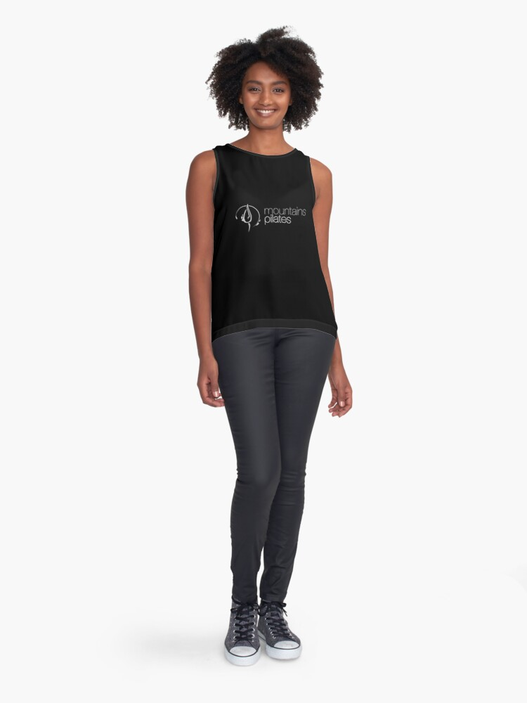 Alternate view of Mountains Pilates Sleeveless Top