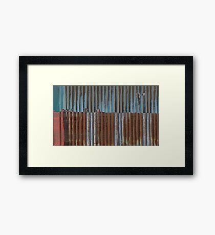 Australian Country Landscape Framed Print
