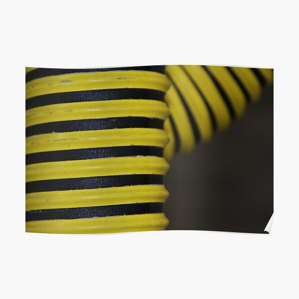 Hose in Yellow and Black Poster