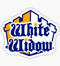 White Widow  Sticker