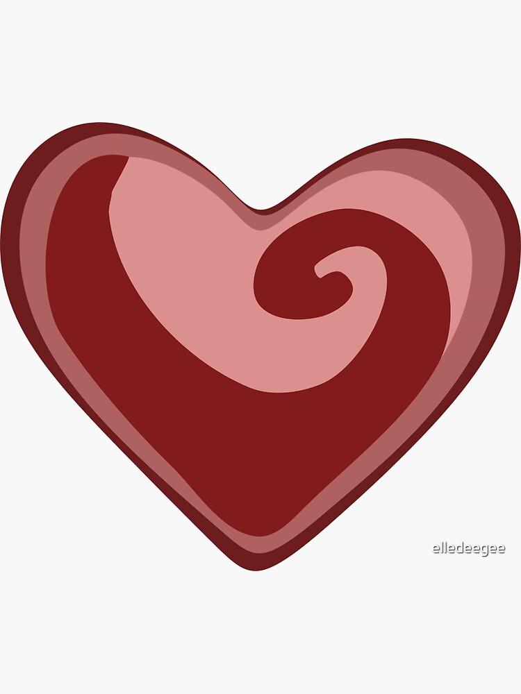 Colorful Heart by elledeegee
