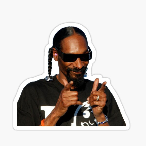 Snoop Dogg for your Stuffs Sticker