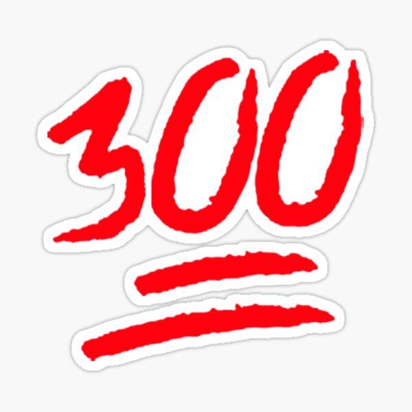 300 Pegatina