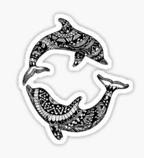 Pegatina Delfines