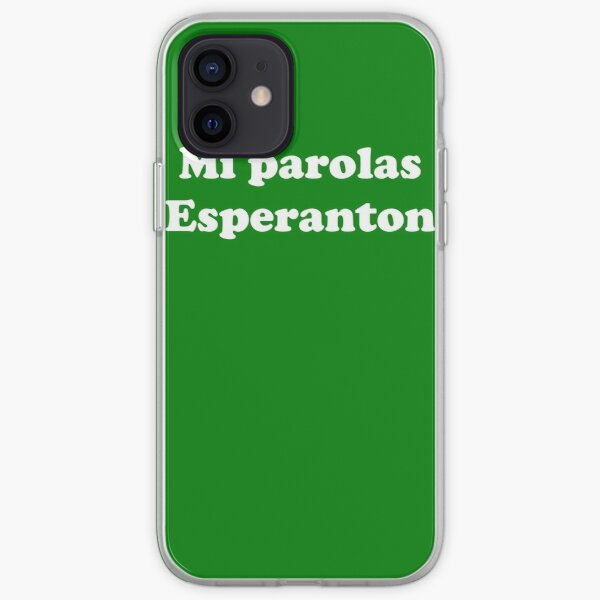 Mi Parolas Esperanton iPhone Soft Case