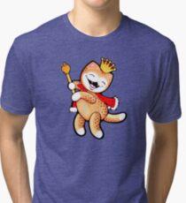 Leopard prince Tri-blend T-Shirt
