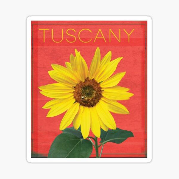 Tuscany. Sticker