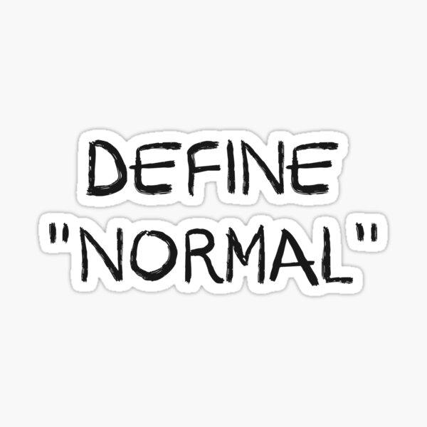 Define Normal Sticker