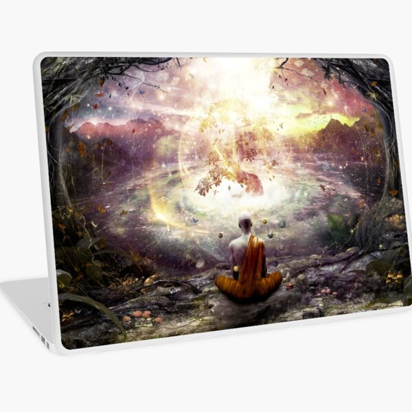 Nature And Time Laptop Skin