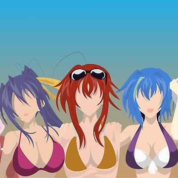 House of Gremory - High School DxD - The Beach by Hespen