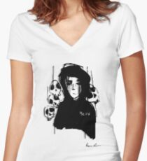 Deep Thought Fitted V-Neck T-Shirt