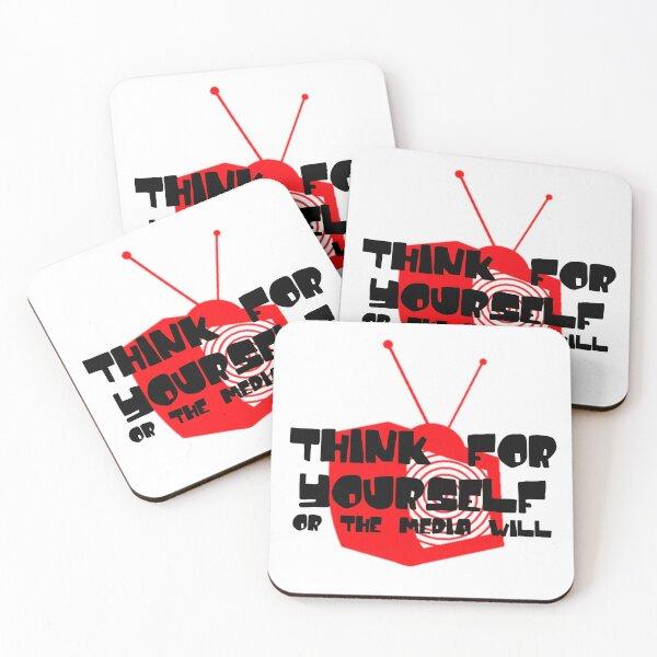 Media Hypnosis Coasters (Set of 4)