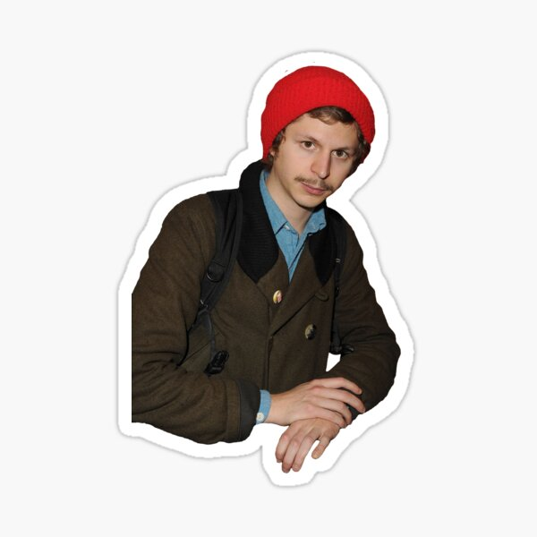 THE SAME T-SHIRT OF MICHAEL CERA EVERY DAY Sticker