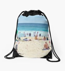 Summer, Merewether Beach - Australia Drawstring Bag