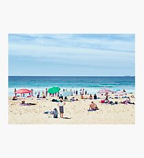 Summer, Merewether Beach - Australia Photographic Print