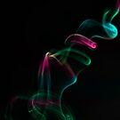 Smoke Rainbow Swirls by bradlentz-photo
