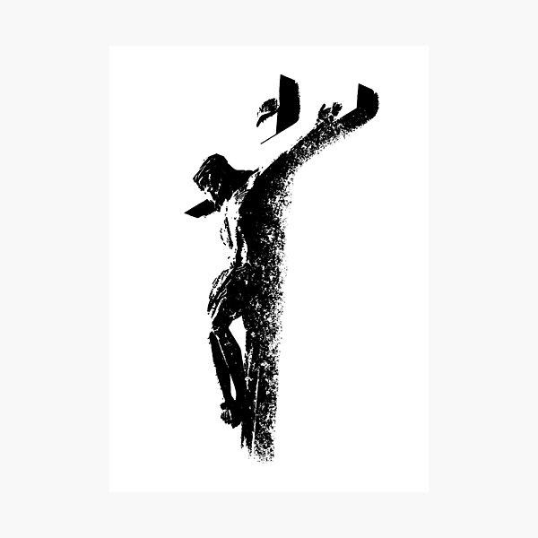 Jesus Christ on the Cross-Crucifixion-Christian-Faith    Photographic Print
