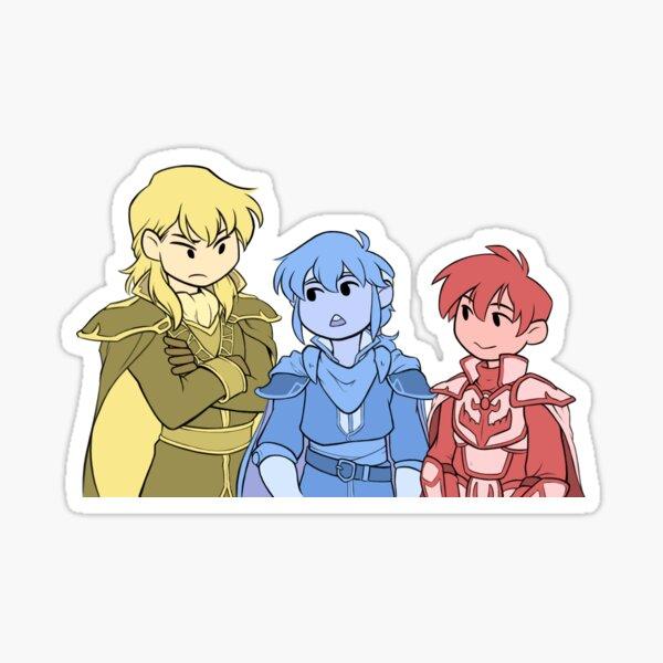 Fire Emblem 4 - Sons Sticker