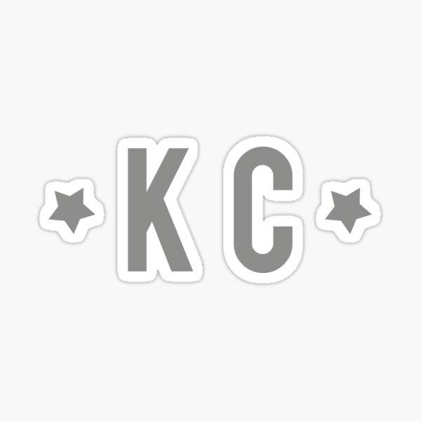 KC Stars - grey Sticker