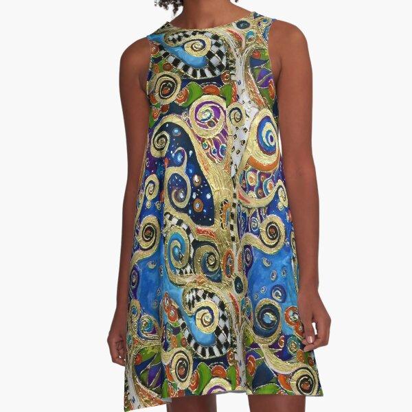 The Changing Seasons of Klimt A-Line Dress