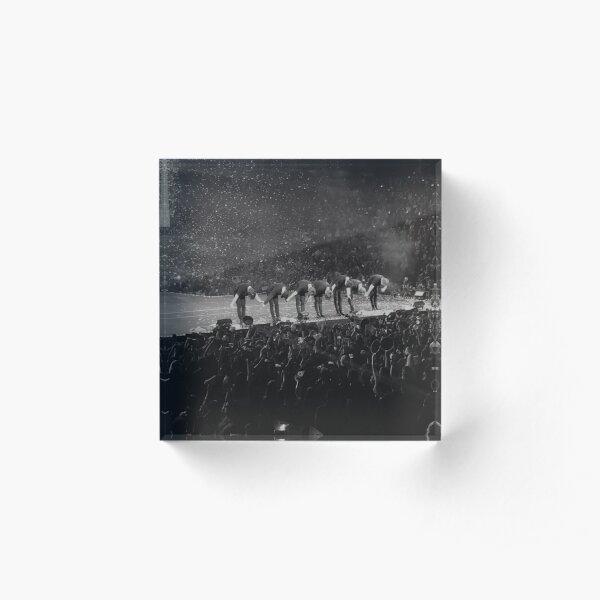 BTS Wings Tour  Acrylic Block